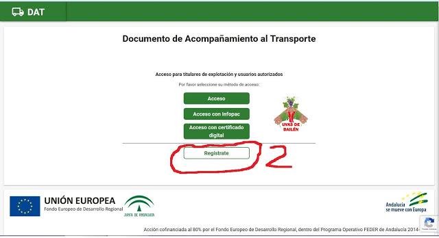 Guía para usar Documento de Acompañamiento al Transporte (DAT) parte 1