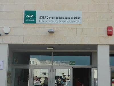 Visita a las intalaciones del IFAPA Rancho de la Merced